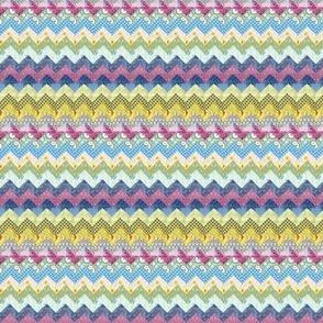 Quilt chevron pattern