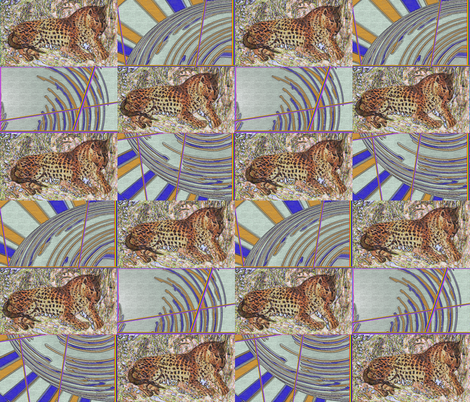 leopard fabric by angelprint on Spoonflower - custom fabric