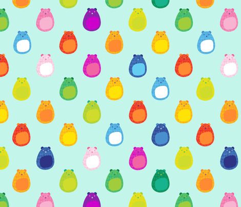 Baby Bear fabric by spellstone on Spoonflower - custom fabric