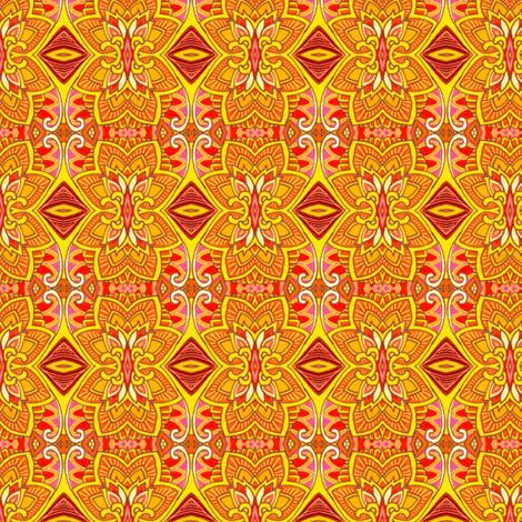 Luau Time on the Beach In Hawaii fabric by edsel2084 on Spoonflower - custom fabric