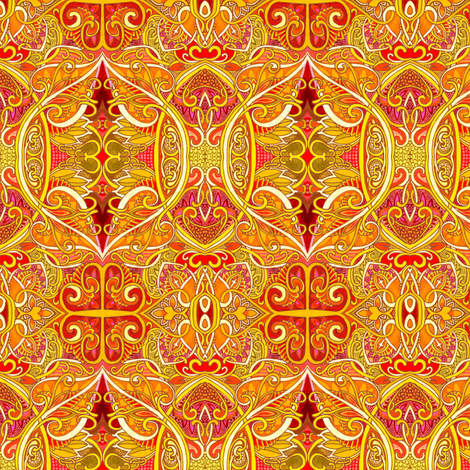 If King Midas Got His Wish fabric by edsel2084 on Spoonflower - custom fabric