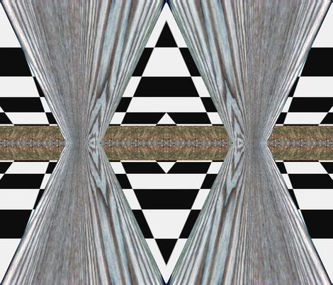 wood_table fabric by custom_designer_trish on Spoonflower - custom fabric