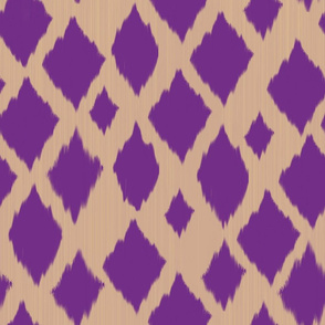 Checkered ikat
