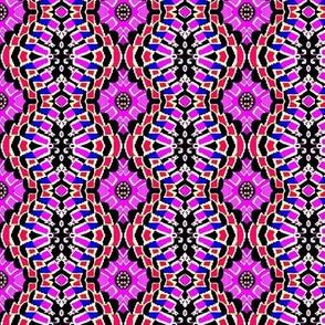 lavender flower bandana