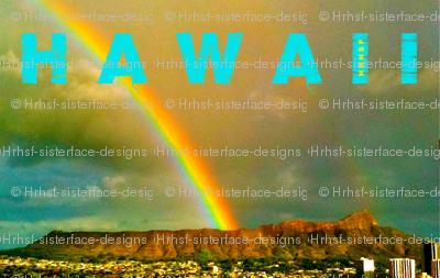 Diamond Head Rainbow, Hawaii