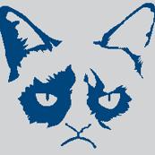 Cat Shadow Blue