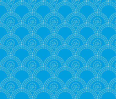 vague_fond_bleu_L fabric by nadja_petremand on Spoonflower - custom fabric