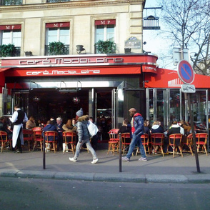 Cafe Madeleine, Paris