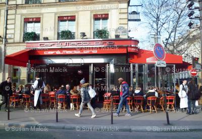 Cafe Madeleine, as You Like It!