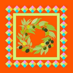 Olive Wreath 1