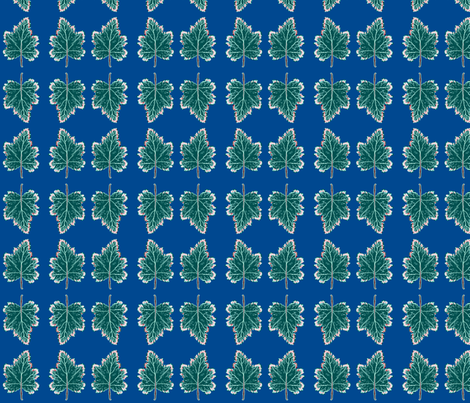 Spring Leaf fabric by robin_rice on Spoonflower - custom fabric