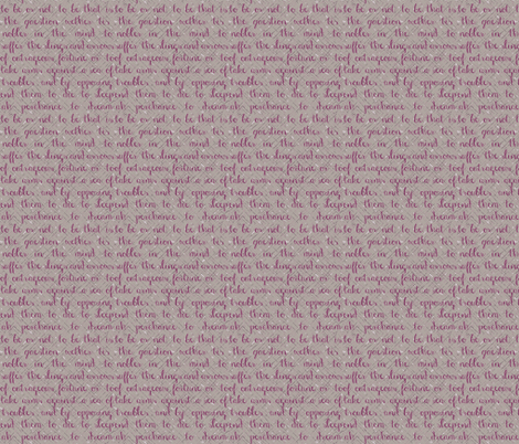 Writing in the grass fabric by keweenawchris on Spoonflower - custom fabric