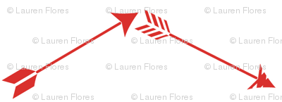 Poppy Arrow Chevron