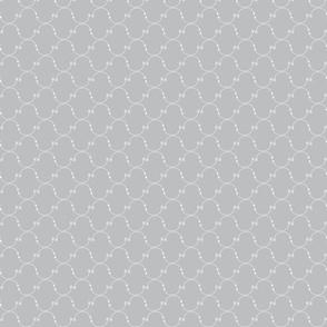 Grey Morrocan Tiled Arrows