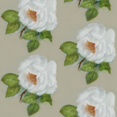 Grandmother's rose fabric by paragonstudios on Spoonflower - custom fabric