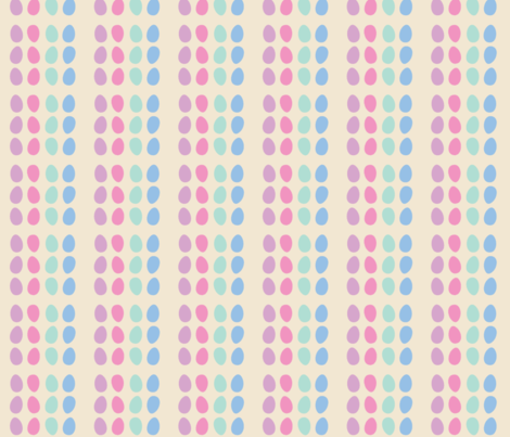 All my eggs in one basket fabric by mezzime on Spoonflower - custom fabric
