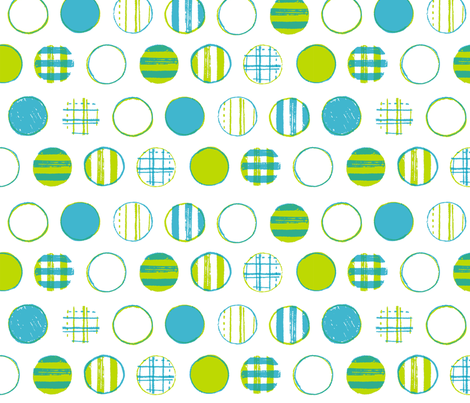 Patterned Dots fabric by jennjersnap on Spoonflower - custom fabric