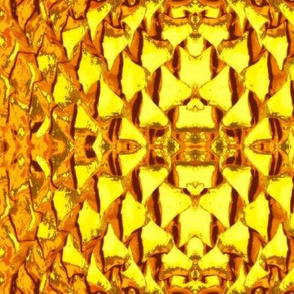 Pine Cone-yellow/gold