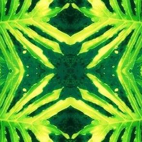 Fern Leaf-green/teal