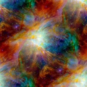 Rainbow Galaxy Seamless