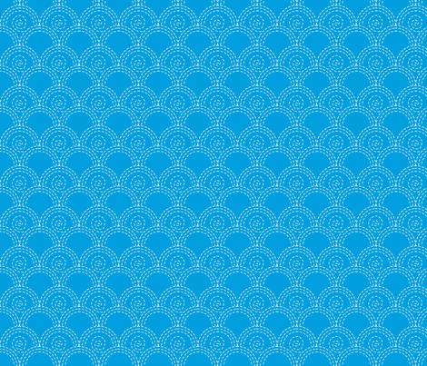 vague_fond_bleu_M fabric by nadja_petremand on Spoonflower - custom fabric