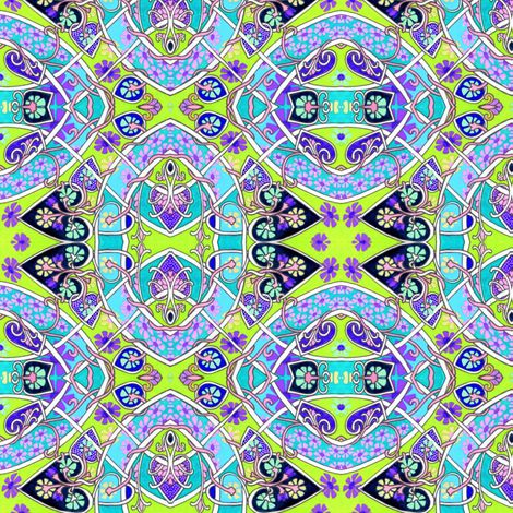Have a Retro Sixties Day fabric by edsel2084 on Spoonflower - custom fabric