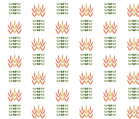Wheat fabric by szilvia on Spoonflower - custom fabric
