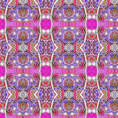 Raspberry Sunday fabric by edsel2084 on Spoonflower - custom fabric