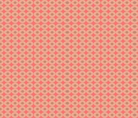 Citrus pink fabric by szilvia on Spoonflower - custom fabric