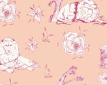 Lion_mouse_toile_peach_thumb