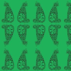 CatsMeow - Lg - dark green