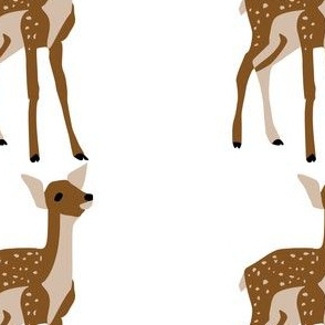 Baby Deer Decal 5x5