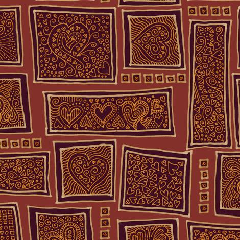 golden age of romance fabric by weavingmajor on Spoonflower - custom fabric