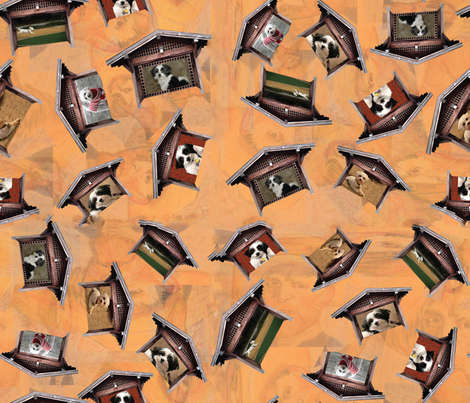 Vincent_s_Dogs fabric by designergena on Spoonflower - custom fabric