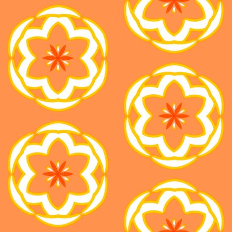 DreamFlower Dots   -large fabric by fireflower on Spoonflower - custom fabric