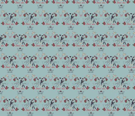 Dear Sir, fabric by allywe on Spoonflower - custom fabric