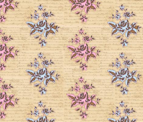 Jane Austin inspiration fabric by lucybaribeau on Spoonflower - custom fabric