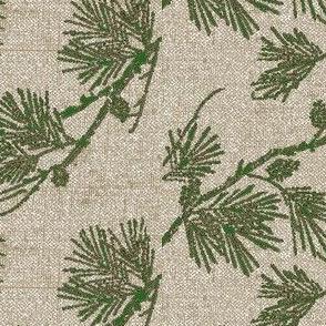 pine - green/silver