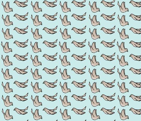 fling flight fabric by doodleandhoob on Spoonflower - custom fabric