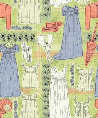 Elinor Dashwood's London wardrobe