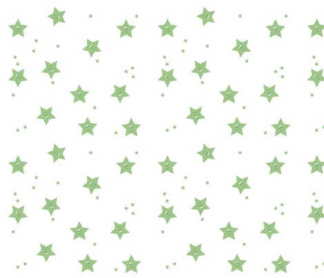 Happy_stars_green_fabric_shop_preview