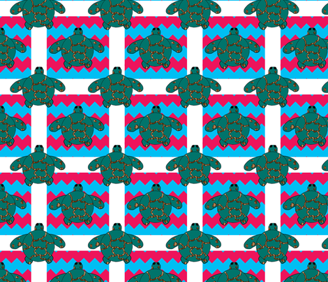 Baby Sea Turtles fabric by egprestonhouse on Spoonflower - custom fabric