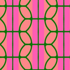 KB's B-Ball Stripes v2     -Pinks&Green