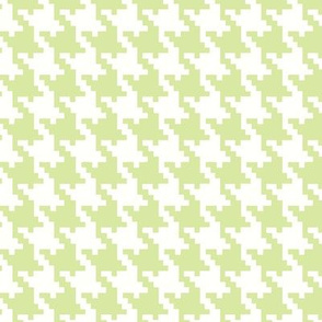 Houndstooth in Green