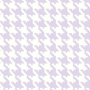 Houndstooth in Lavendar