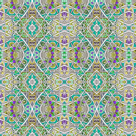 Positively Celtic fabric by edsel2084 on Spoonflower - custom fabric