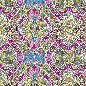 Flower Power Patchwork Squares