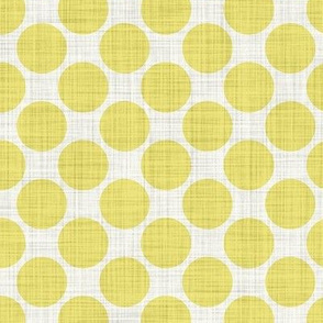 Distressed Dots in Yellow