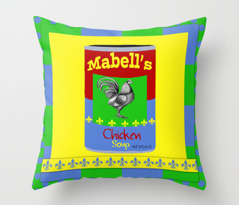 Mabell's Chicken Soup Pop Art