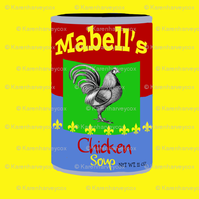 Mabell's Chicken Soup Pop Art